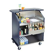 Lakeside 76884 Stainless Steel Portable Bar with Casters