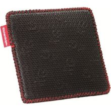 "Browne Foodservice 110308-11 Black 7"" Square Hot Pad"