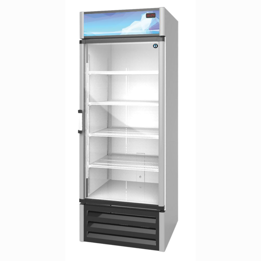 Hoshizaki RM-26 S/S 26 Cu. Ft. Glass Door Refrigerated Merchandiser