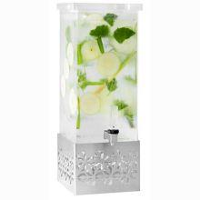 Rosseto LD161 Iris™ Acrylic 2 Gallon Beverage Dispenser