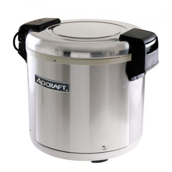 Darling Food Service Stainless Steel 50-Cup Rice Warmer