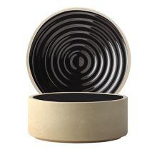 Chef & Sommelier FK847 Geode Black 24 Ounce Bowl - 12 / CS