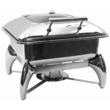 TableCraft CW40176 S/S Polished 5 Quart Chafer with Stand
