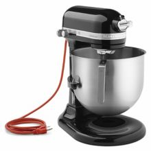 KitchenAid KSM8990OB Onyx Black 8 Quart Commercial Stand Mixer