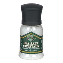 Chef Specialties 90509 Mini Disposable Sea Salt Grinder - 12 / CS