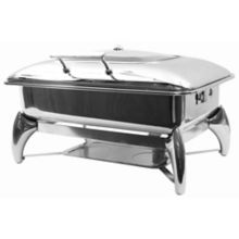 TableCraft® CW40175 7 Quart Chafer Dish with Stand