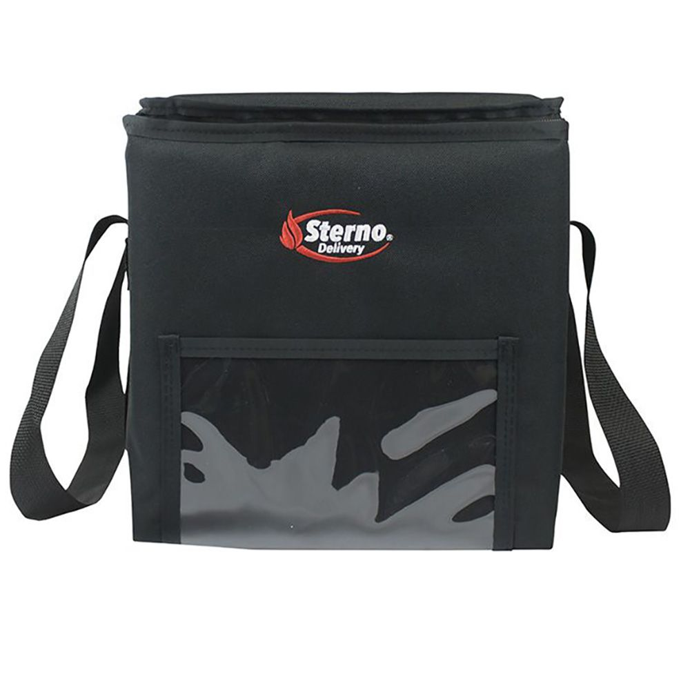 Sterno Products 70516 Black 11.5 x 11.5 x 12 In Insulated Food Carrier