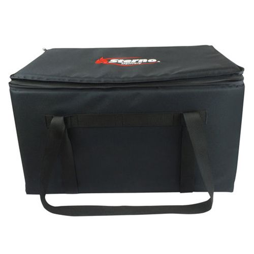 "Sterno Products 70512 Black 16 x 24 x 14"" Insulated Food Carrier"