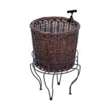Mobile Merchandisers K1726S-BR Willow Basket Display Set