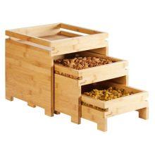 Rosseto BD131 Natura™ Nesting Bamboo Box Stands