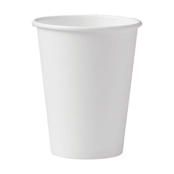 Solo 412WN-2050 White 12 Ounce Paper Hot Cup - 1000 / CS
