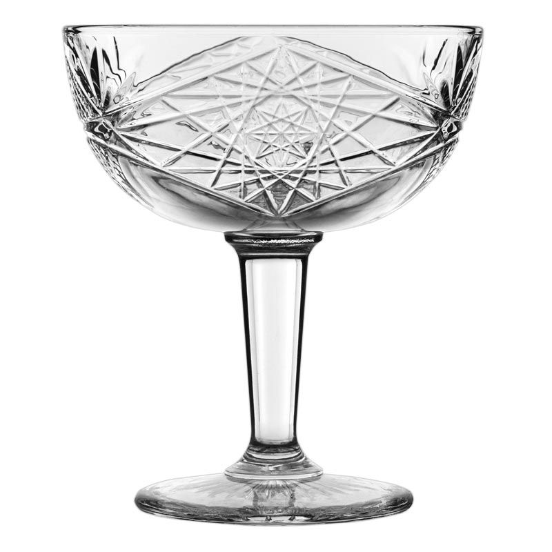 Libbey 929799 Hobstar 8.5 Ounce Coupe Cocktail Glass - 12 / CS