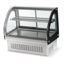 """Vollrath® 40845 Heated 36"""" Curved Drop-In Display Case"""
