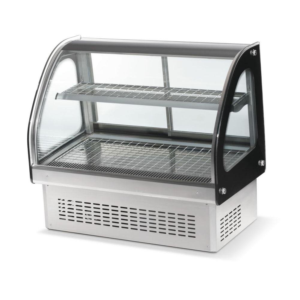"Vollrath® 40846 Heated 48"" Curved Drop-In Display Case"