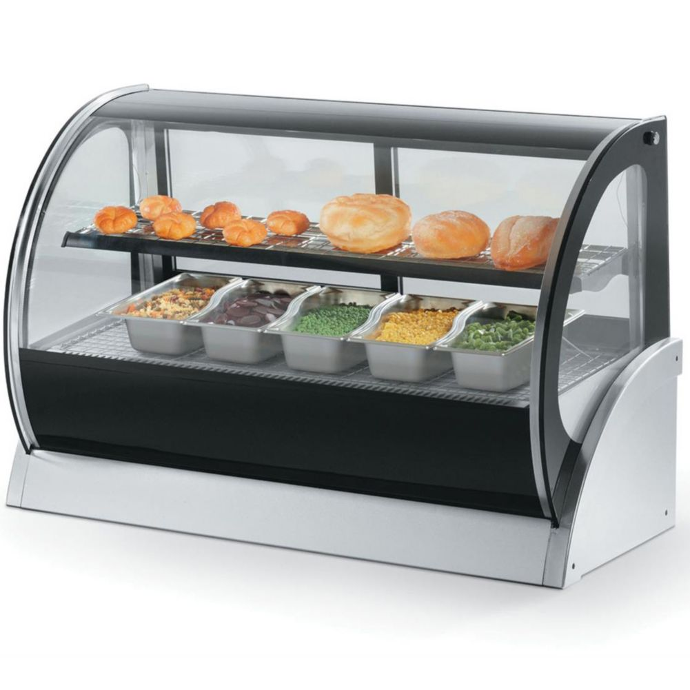 "Vollrath® 40856 Heated 48"" Curved Display Case"