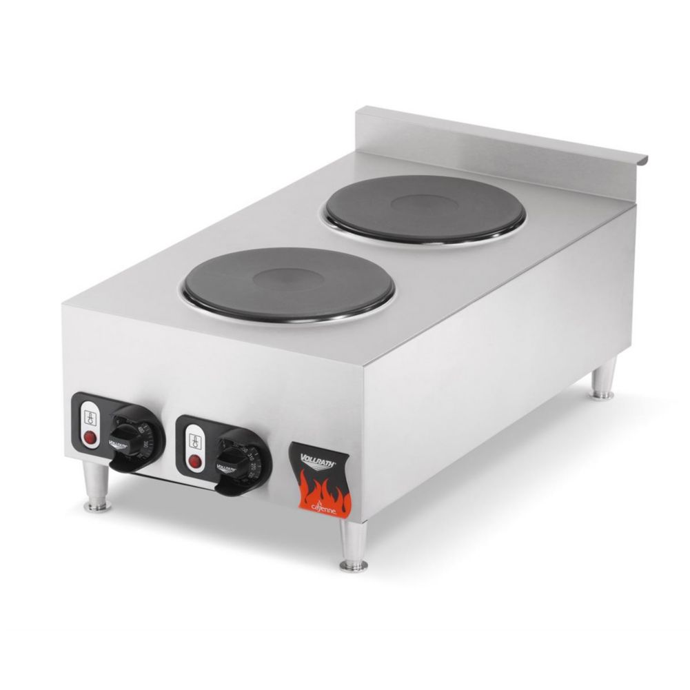 "Vollrath® 40739 Cayenne®  15 x 27.4"" Electric Hot Plate"