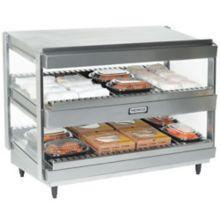 """Nemco 6480-36S S/S 36"""" Dual Shelf Merchandiser"""