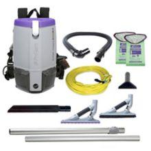 ProTeam 107535 Super Coach Pro 6 Backpack Vacuum