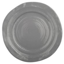 """Elite Global Solutions D101-G Della Terra Gray 10"""" Plate - 6 / CS"""