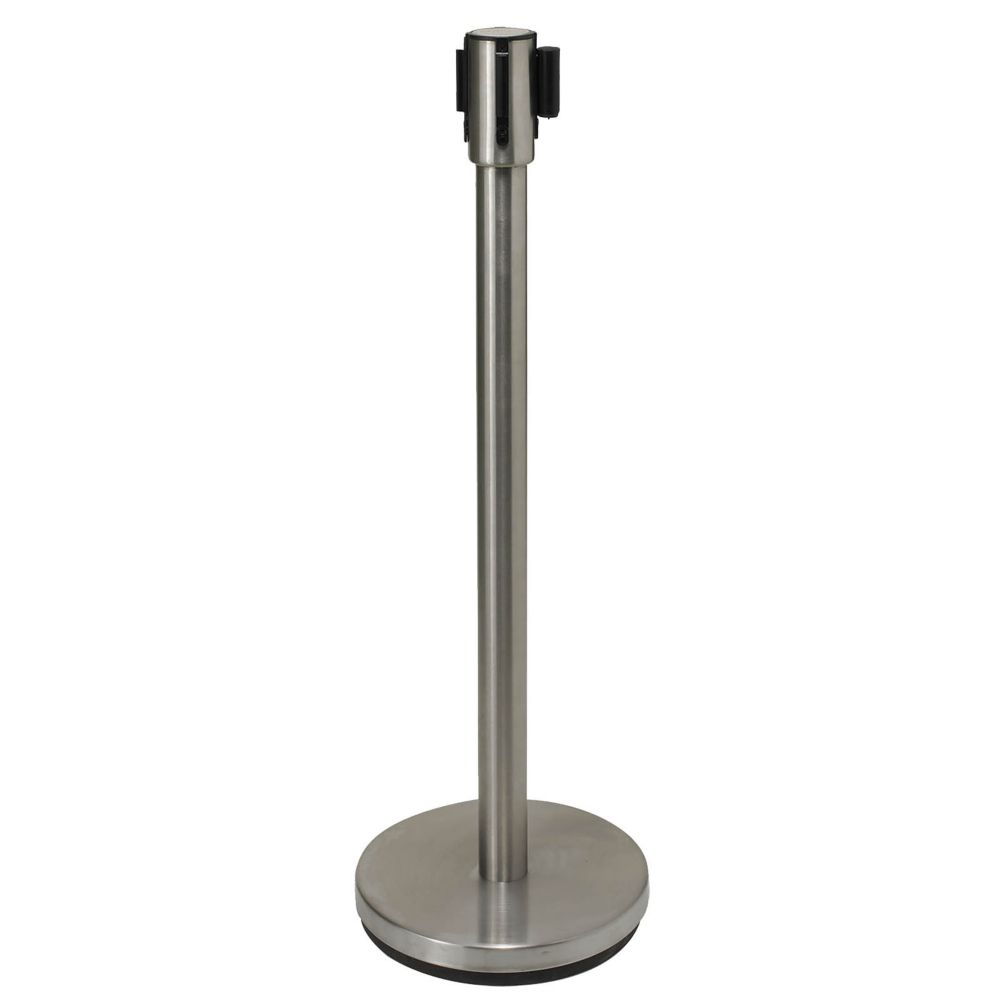"Winco CGS-38S S/S 36"" Stanchion with Retractable Belt"