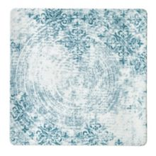 "Schonwald 9131524-63073 Structure Blue 9.5"" Square Plate - 6 / CS"