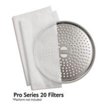 Toddy TPS20TF50 Pro Series 20 Gallon Cold Brew Filter Paper - 50 / CS