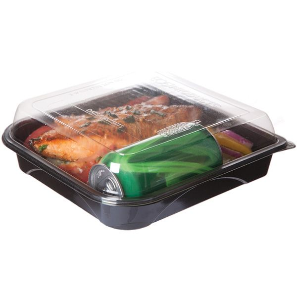 Eco Products EP-PTOR9 Premium 42 Ounce Take-Out Container - 150 / CS