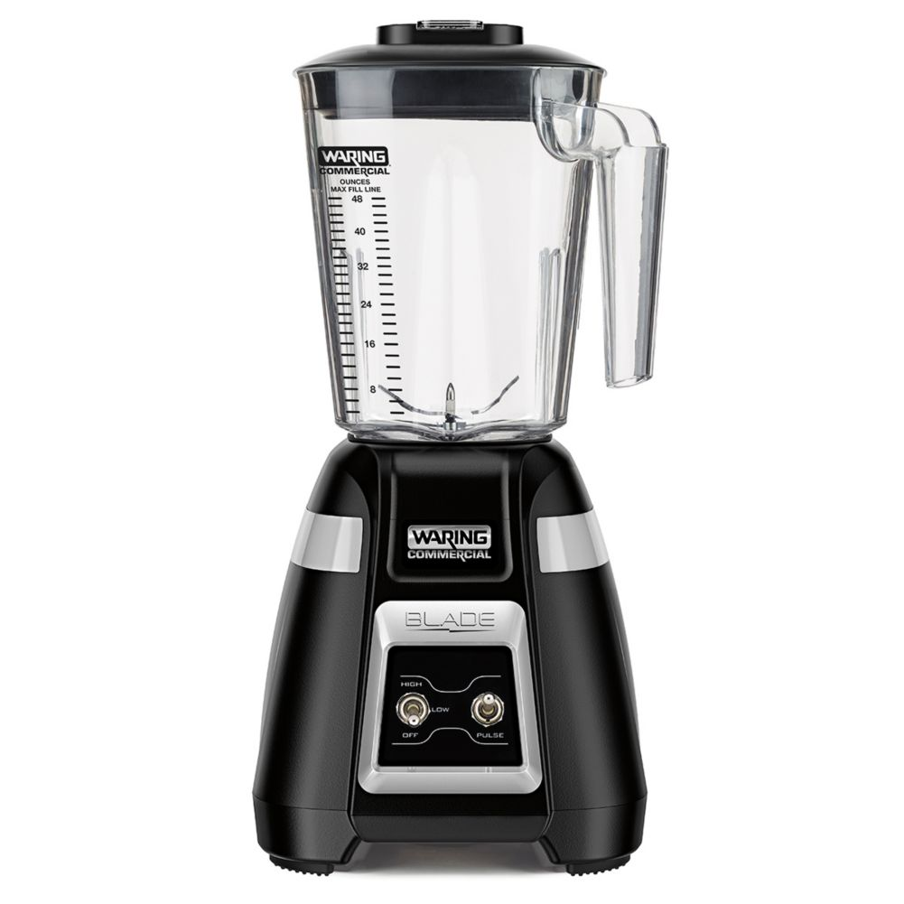 Waring Commercial BB300 120V Blade 48 Oz. Bar Blender with Toggle
