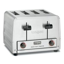Waring Commercial WCT805 240V 4-Slot Commercial Toaster