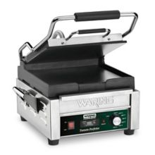 Waring WFG150T Tostato Perfetto 120V Italian-Style Flat Grill w/ Timer