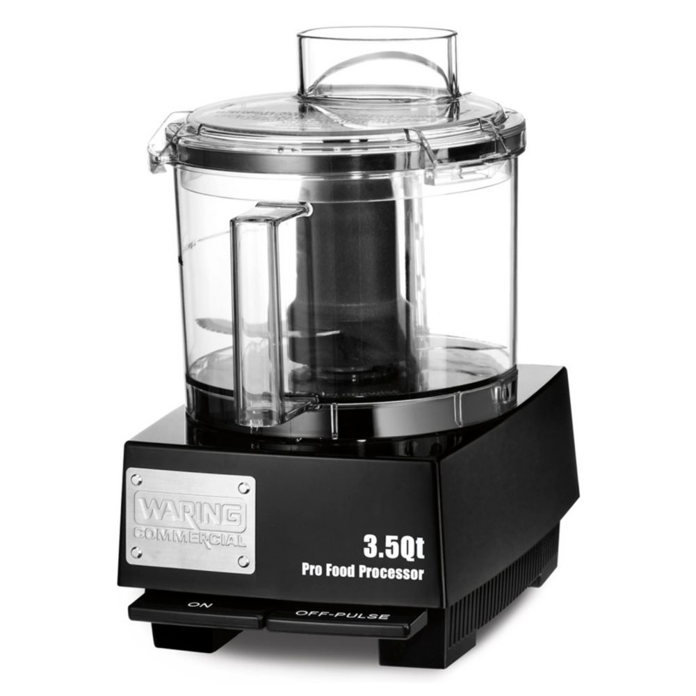 Waring Commercial WFP14SW 120V 3.5 Qt. Food Processor with Liquilock