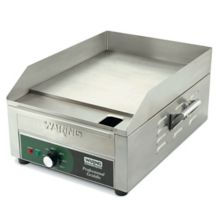 """Waring® Commercial WGR140X 120V Aluminum 14"""" Countertop Griddle"""