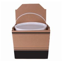 Southern Champion Tray 2783 1 Gallon Soup Container with Lid - 12 / CS