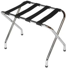 "Central Specialties 155C-BL Chrome 26 x 16.5 x 20"" Luggage Rack"