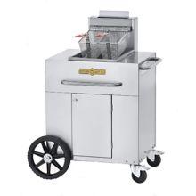 Crown Verity CV-PF-1LP Portable LP Gas Outdoor Fryer