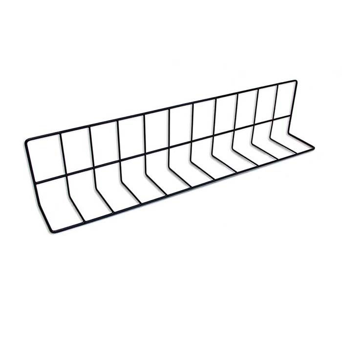 "Elite Global Solutions W4626-B Black 4 x 6 x 26"" Wire Divider"