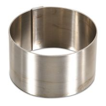 "J.B. Prince M231 S/S 2.5"" Round Ring"