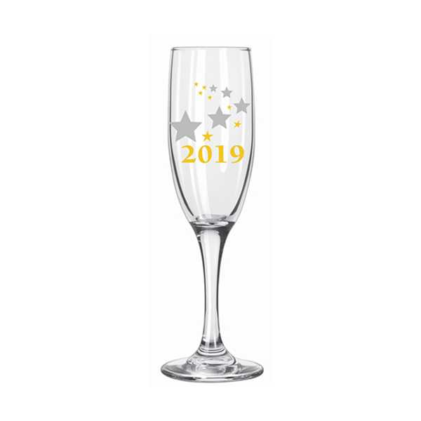 Libbey 2019 Holiday 6 Oz Champagne Flute