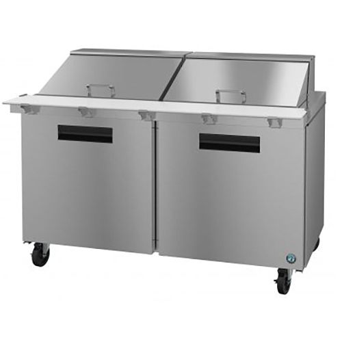 Hoshizaki SR60A-24M S/S 15.4 Cubic Ft Refrigerated Mega Top Prep Table