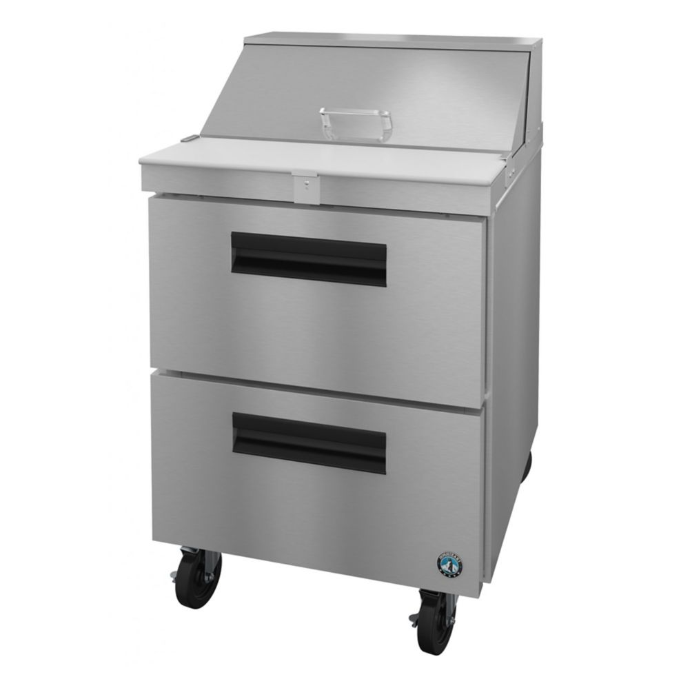 Hoshizaki SR27A-8D2 S/S 6.22 Cubic Ft Refrigerated Sandwich Prep Table