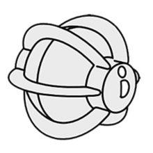 Rosseto PRO6-SM 1 tbsp Portion Wheel