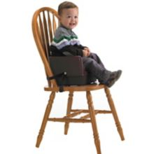 Cambro 100BCS131 Dark Brown Booster Seat with Safety Strap