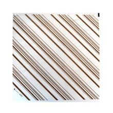 PackNWood 210PAP3132M Brown Decorative Paper Liner - 500 / CS