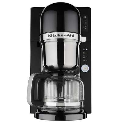KitchenAid KCM080OB Onyx Black 8-Cup Pour Over Coffee Brewer