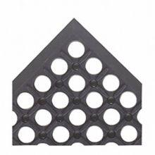 NoTrax 619S0035BL Black 3' x 5' Drain Lite Mat