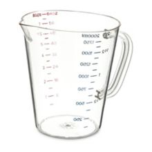 Carlisle 4314407 64 Ounce Metric Measuring Cup