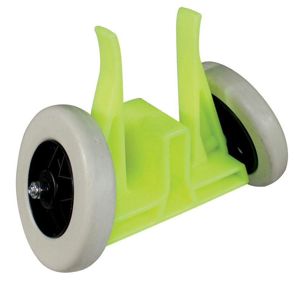 Impact Products 7376 Flour Yellow / Green Plastic Table Mover
