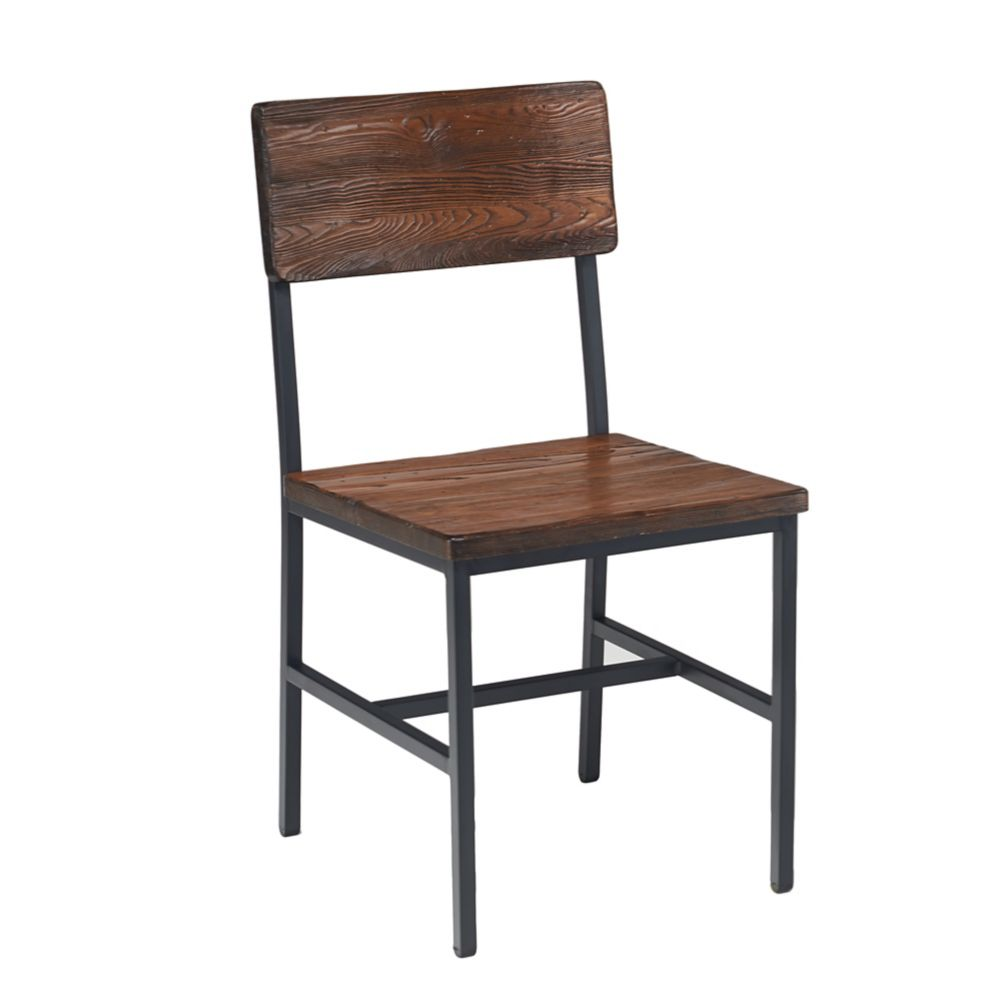 G & A 540 RA W Toledo Chair with Walnut Seat and Back