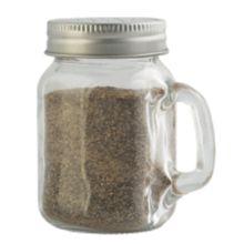 TableCraft H475S&P 4.75 Ounce Mason Glass Salt / Pepper Shaker