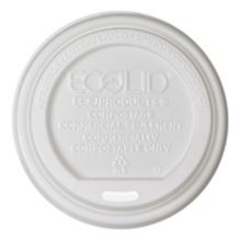 Eco Products EP-ECOLID-W Renewable 10 - 20 Oz. Hot Cup Lid - 800 / CS